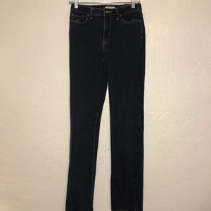 Boston Proper straight leg jeans, size 4